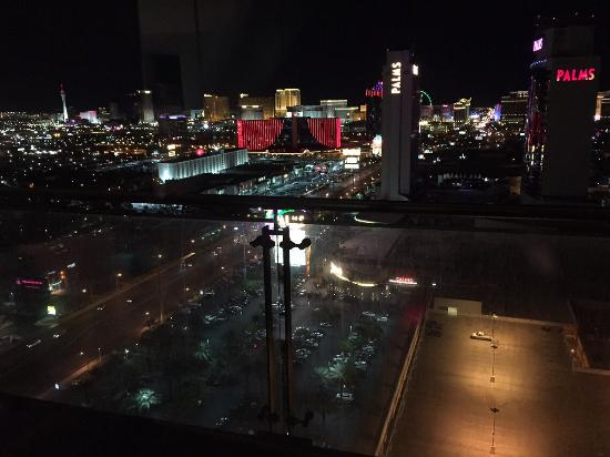 The Palms Casino Hotel: View from balcony in room