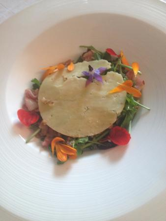 Dunbrody Country House Hotel: Mixed veg a bacon salad