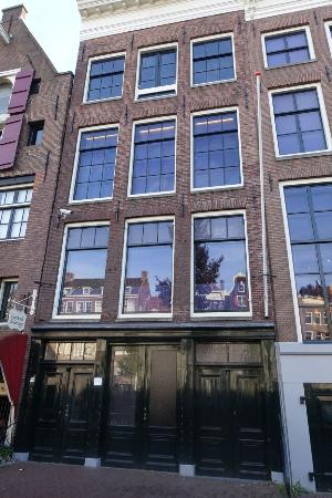 anne franks house from outside picture of anne frank
