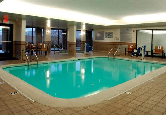 Indoor Pool Picture Of Courtyard Indianapolis Northwest Indianapolis Tripadvisor