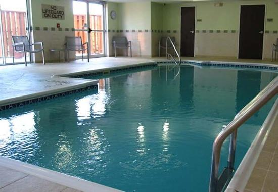 Indoor Pool Picture Of Springhill Suites Houston