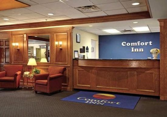 reception picture of comfort inn downtown cleveland. Black Bedroom Furniture Sets. Home Design Ideas