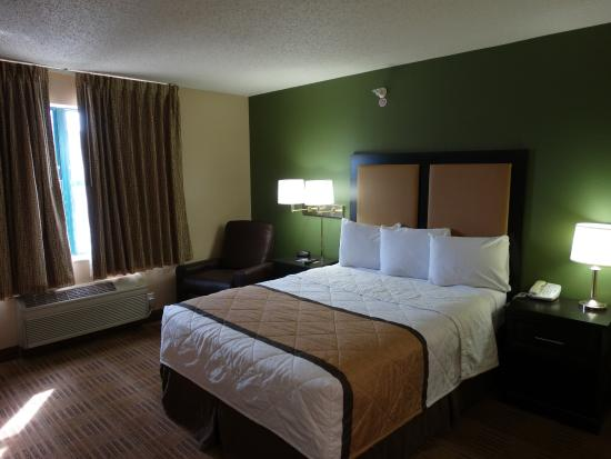 Studio Suite 1 King Bed Picture Of Extended Stay America Fort Worth City View Fort