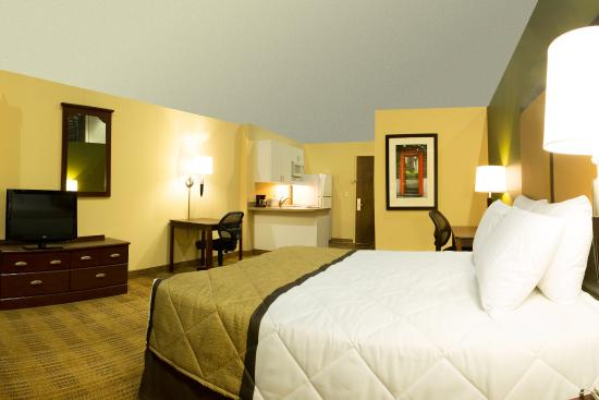 Studio suite 1 queen bed picture of extended stay america sacramento elk grove elk for Extended stay america one bedroom suite