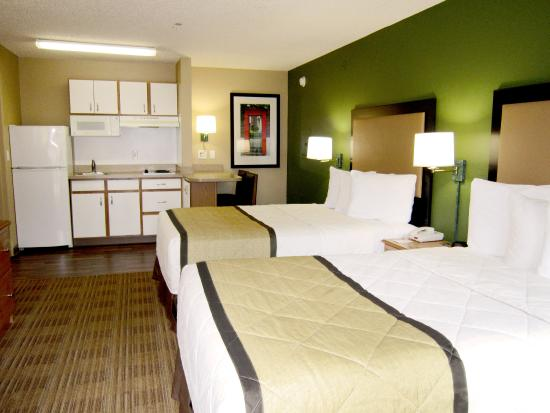 Studio Suite 2 Double Beds Picture Of Extended Stay America Tampa Brandon Brandon