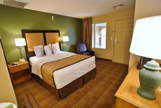 Studio suite 1 queen bed picture of extended stay america nashville franklin cool for Extended stay america one bedroom suite