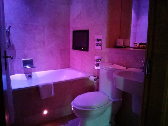 Bathroom With Mood Lighting Picture Of The Crown Spa Hotel Scarborough Tripadvisor