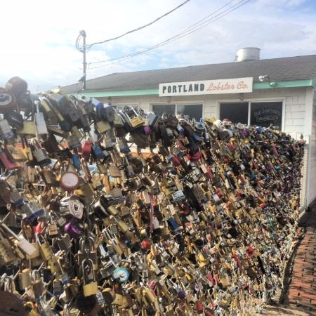 Locks of Love for Lobster Rolls! - Picture of Portland Lobster Co ...