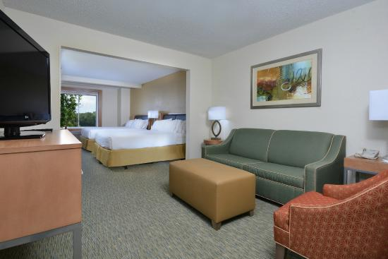 Enjoy separate living quarters in our suites picture of for Separate living quarters