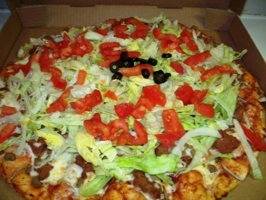 Canby, OR: Nacho Pizza