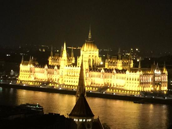 View From Back Side Of Hotel Across To Pest Picture Of Hilton Budapest Castle District
