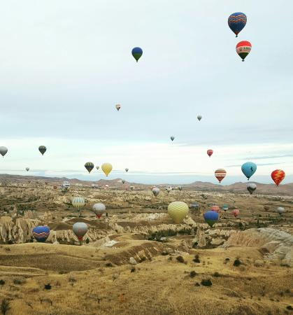 Urgup Hot Air Balloons - Picture of Urgup Hot Air Balloons ...