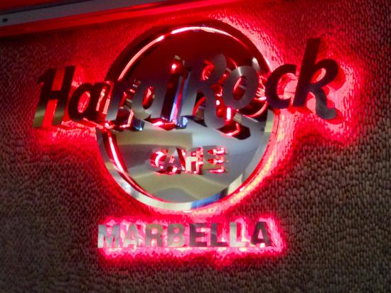 logo picture of hard rock cafe puerto banus tripadvisor. Black Bedroom Furniture Sets. Home Design Ideas
