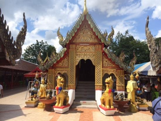 Wat Phra That Doi Kham - Picture of Wat Phra That Doi Kham ...