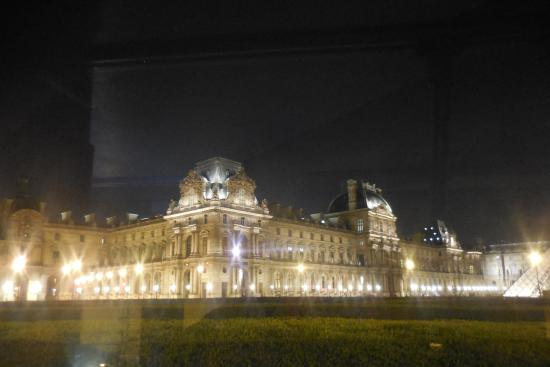 Big Bus Night Tour Of Paris Louvre  Picture Of Big Bus Paris Paris  TripA