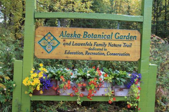 A Bit Of Whimsy Picture Of Alaska Botanical Garden