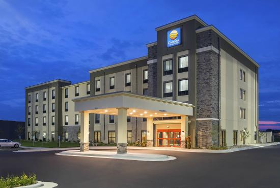 Comfort Inn Amp Suites West Medical Center Review Of