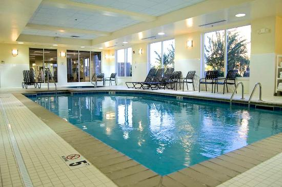 Indoor Pool And Spa Picture Of Hilton Garden Inn