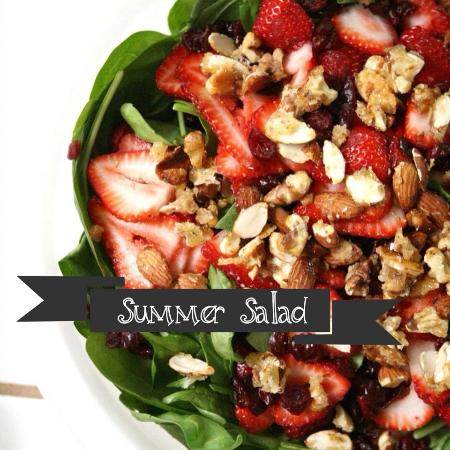 Fort Stockton, Техас: SUMMER SALADS