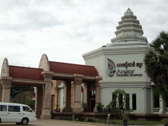 Facade - Picture of Angkor National Museum, Siem Reap ...