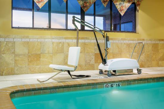 Ada handicapped accessible swimming pool lift picture of Handicapped accessible swimming pools