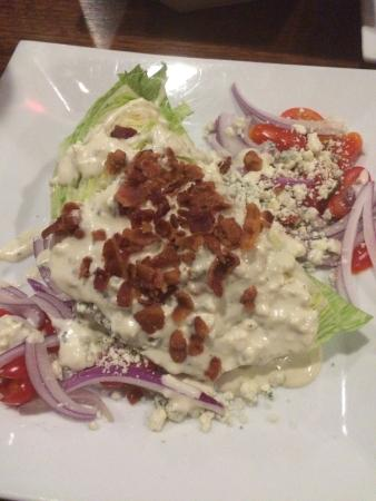 Suffield, CT: Wedge salad