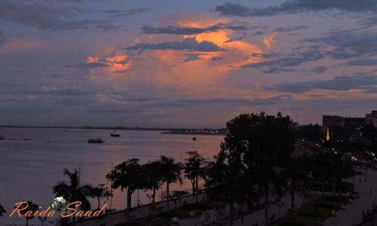 Le Grand Mekong: view from the balcony
