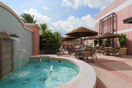 pool bar seating picture of embassy suites by hilton. Black Bedroom Furniture Sets. Home Design Ideas