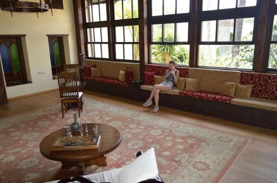 Spirit of the Knights Boutique Hotel: Relaxation area