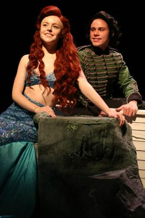 Warsaw, Индиана: The Little Mermaid, presented by Wagon Wheel Theatre in Summer 2015.