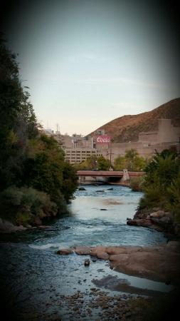 Golden, CO: Coors Brewery pic taken from the main bridge