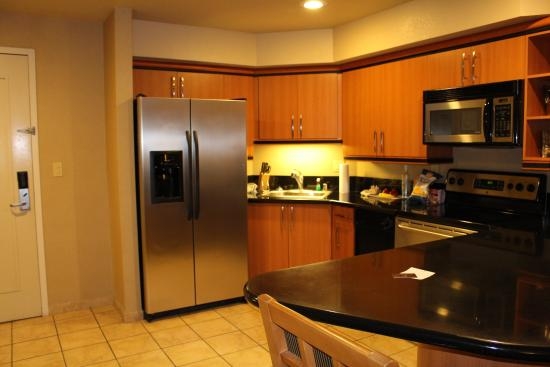 Suite Kitchen With Dishwasher Picture Of Platinum Hotel And Spa Las Vegas Tripadvisor