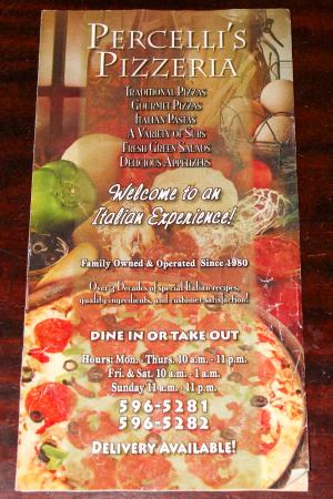 New Plymouth, OH: Delivery menu