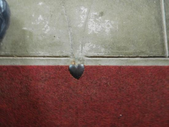St. Mary's, UK: Don't miss the heart at the center of the communion rail