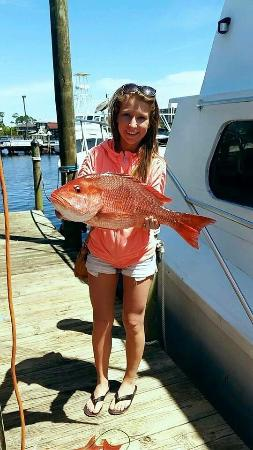 Fish on picture of zeke 39 s lady orange beach tripadvisor for Zeke s fish