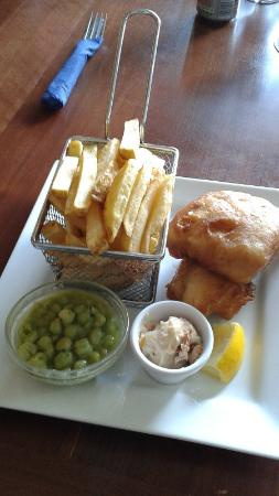Camp, Ireland: Fish & Chips, Fitzgeralds, County Kerry