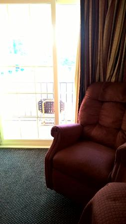 Red Roof Inn Lumberton: comfortable chair!