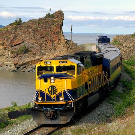 Alaskan Tour Trains
