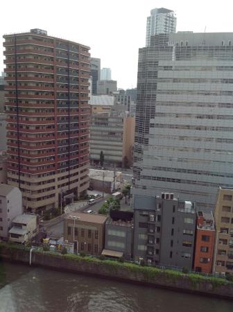 View From Our Room Picture Of Mitsui Garden Hotel Osaka Premier Osaka Tripadvisor