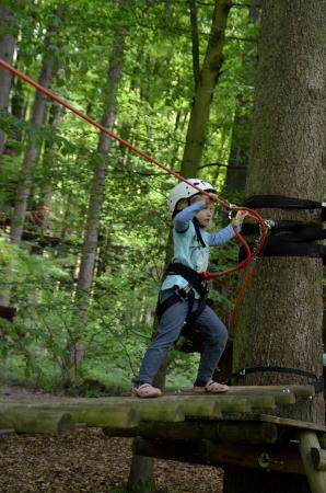 Bad Waldsee, Germany: Children's Rope Course