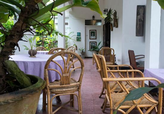 Lani Guest House: Dinning Terrace