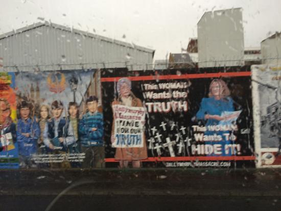 Picture of west belfast mural tours belfast for Belfast mural tours