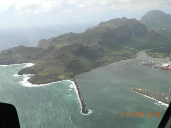 The Shore From Above  Picture Of Blue Hawaiian Helicopter Tours Private Da
