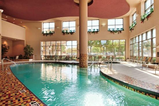 Indoor pool picture of embassy suites by hilton dallas for Hotels in dallas tx with indoor pool