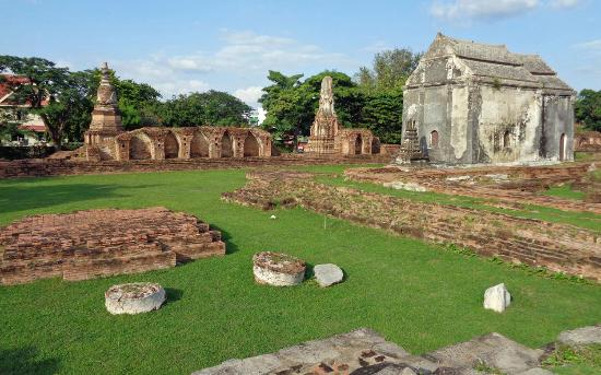 Ancient ruins amidst lush green grass. - Picture of ...