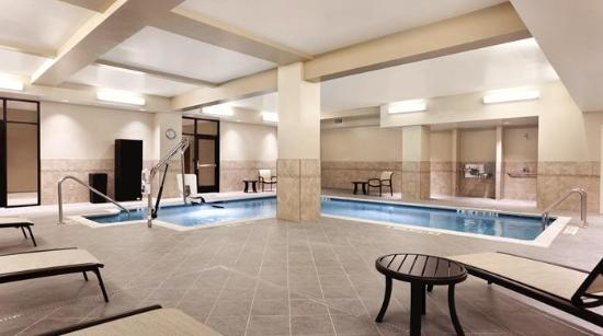 Piscina Picture Of Hilton Garden Inn Rochester Downtown