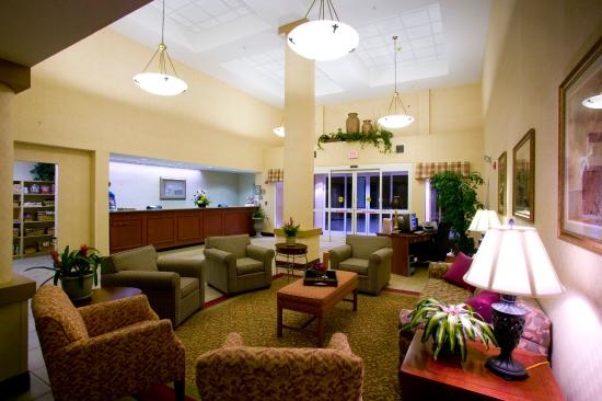 Holiday Inn Express Orlando Airport: Reception