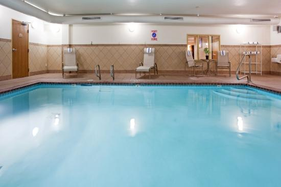 Indoor heated swimming pool whirlpool spa open 24 hours picture of holiday inn express Indoor swimming pools in sandy utah