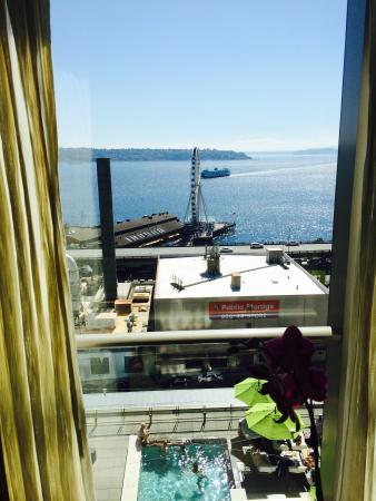 Four Seasons Hotel Seattle: View from our room