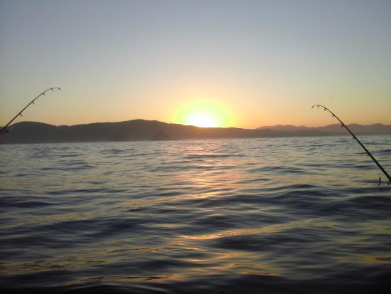 Garibaldi, OR: Beautiful sunrise on our way out!
